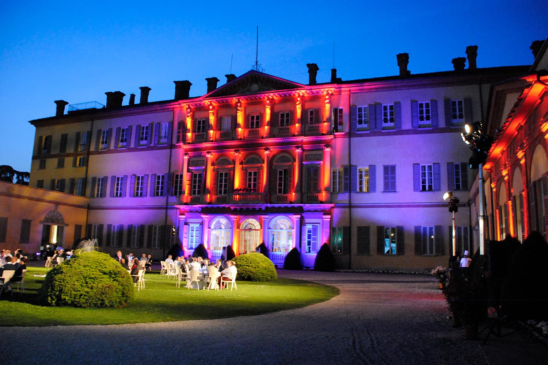 Illuminazione per happening lancio prodotto | Eventi Lancia Vimercate 2011