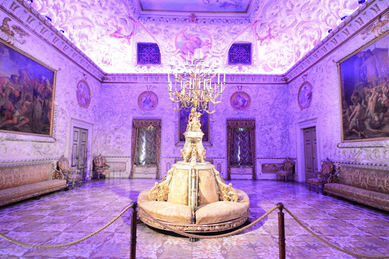 Illuminazione son et lumière ville e mostre | Villa Contarini Piazzola Sul Brenta Mostra Ville Venete
