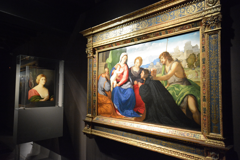 Illuminazione dipinti e quadri ad olio | mostre palma il vecchio bergamo