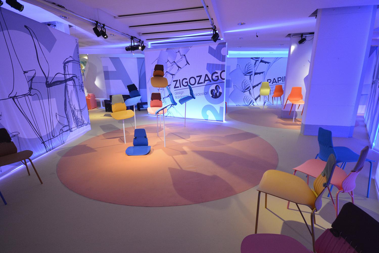 Illuminazione stand salone | show room lagoon fuorisalone milano