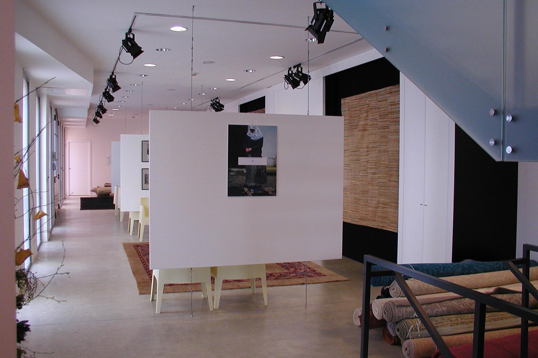 Illuminazione showroom e punti vendita | moret tappeti