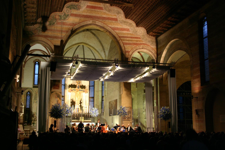 Illuminazione concerti ed eventi in chiesa e luoghi sacri | solisti veneti padova